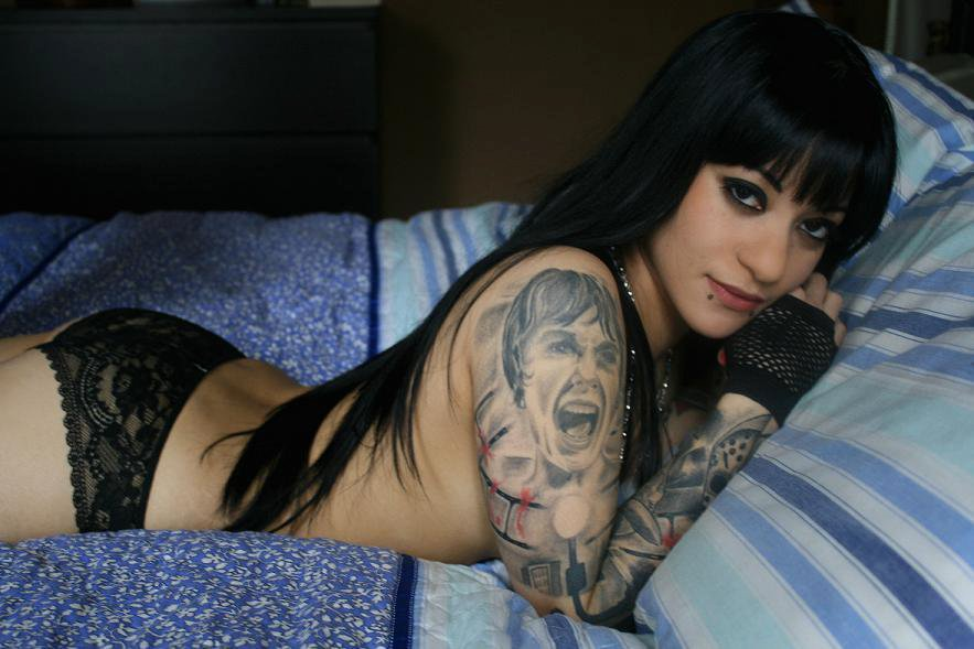 fashion vandals » blog archive » meet inked and up-and-coming model